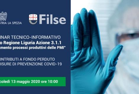 """WEBINAR TECNICO/INFORMATIVO<br/>""""Adeguamento processi produttivi delle PMI"""""""